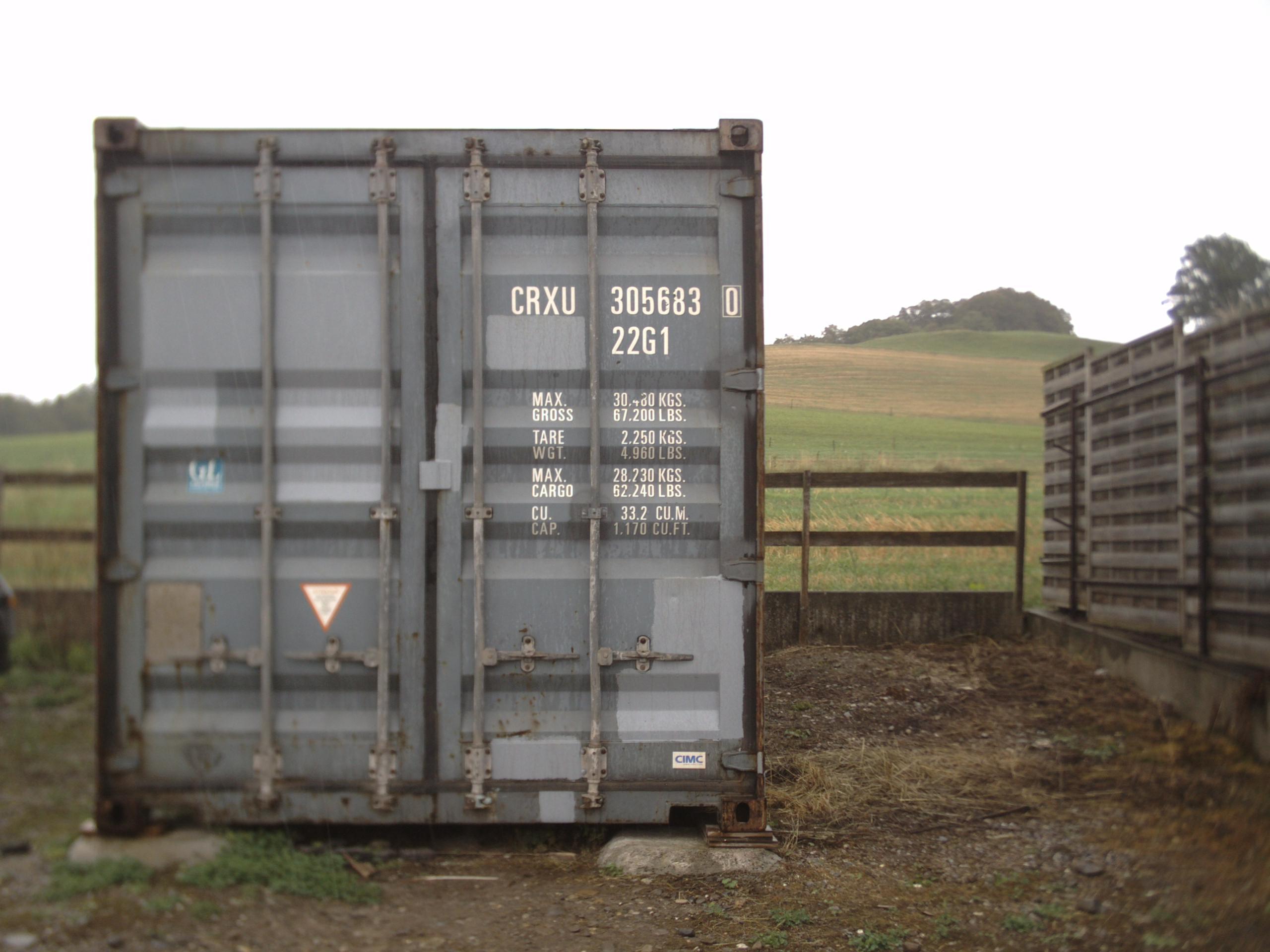 Der nächste Container ist unterwegs